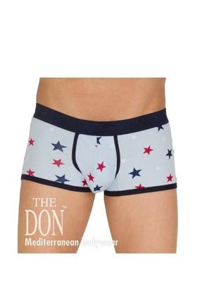 The Don Desenli Poplin Erkek Boxer