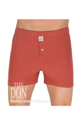 The Don Jersey/Penye Kiremit Rengi Erkek Boxer