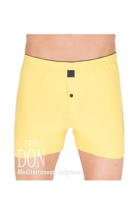 The Don Jersey/Penye Sarı Renk Erkek Boxer