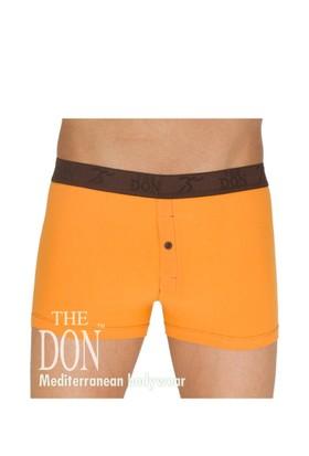 The Don Hipsters Turuncu Renk Erkek Boxer