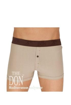 The Don Hipsters Açık Kahverengi Renk Erkek Boxer