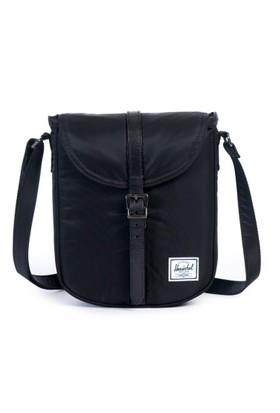 Herschel Çanta Kingsgate Select Black/Black Died Veggie Tan Leather