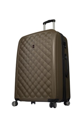 It Luggage Polycarbonate Büyük Boy Çanta Haki L-(78*55*33)