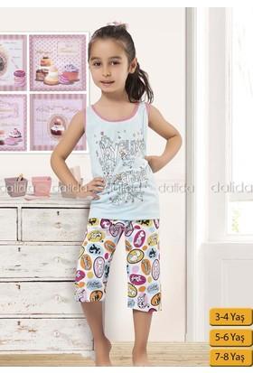 Özkan 40526 Kız Çocuk Kapri Takım