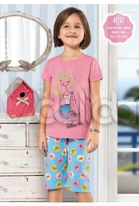 Özkan 40762 Kız Çocuk Kapri Takım - Pembe