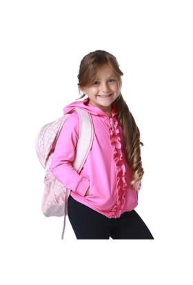Zeyland Kız Çocuk Fuşya Kapşonlu Sweat K-61Kl5224