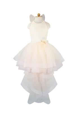 Chic Kız Çocuk Abiye Kuyruklu Elbise