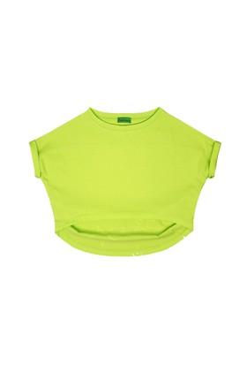 Karamela Yıldızlı T-Shirt Yeşil