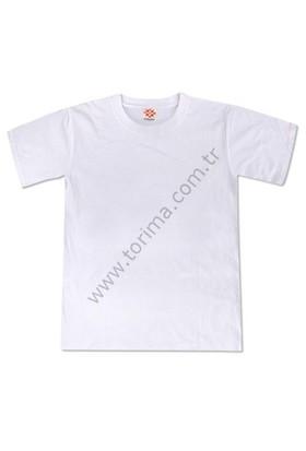 Sublimasyon Sıfır Yaka Çocuk T-Shirt 10 Yaş