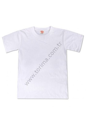 Sublimasyon Sıfır Yaka Çocuk T-Shirt 12 Yaş