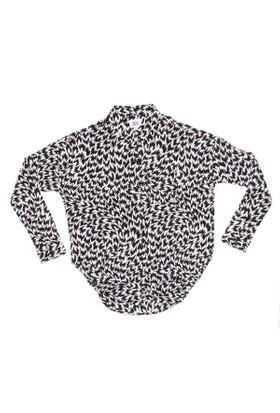 Vans V240Hch Siyah Beyaz Kadın Gömlek