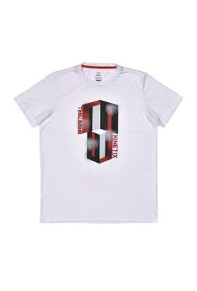 Kinetix A5131177 Beyaz Erkek T-Shirt