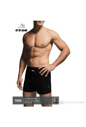 Eros 3'lü Paket Erkek %100 Pamuk Boxer 1600