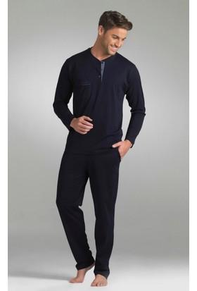 Pierre Cardin Erkek Uzun Kol Pijama Takım 5353