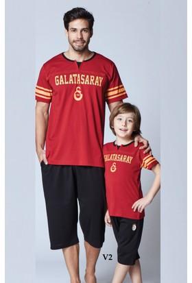 RolyPoly Lisanslı Baba-Oğul Galatasaray Pijama Takım 8273
