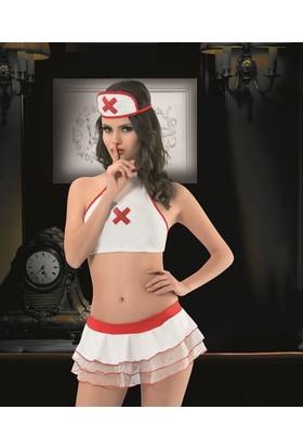 Maranda 5197 Erotik Hemşire Fantezi Kostüm