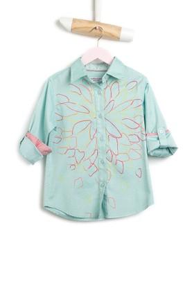 U.S. Polo Assn. Paintkids Kız Çocuk Dokuma Gömlek