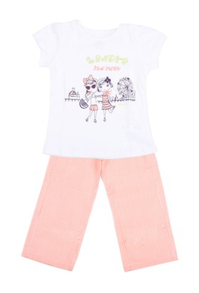 Wonder Kids Kız Çocuk Pijama Takımı 10 Yaş-12 Yaş