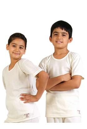 Çocuk %100 Yün İçlik Antibakteriyel Doğal Sağlıklı Uzun Ömürlü (Bay-Bayan)