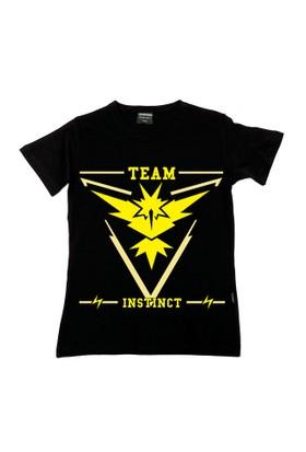 Köstebek Pokemon Team Instınct (Sarı Takım) Çocuk T-Shirt Gt113