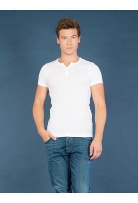 Colin's Beyaz Erkek T-Shirt Kısa Kol