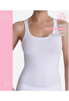 TheDON Bayan Singlet Beyaz Renk