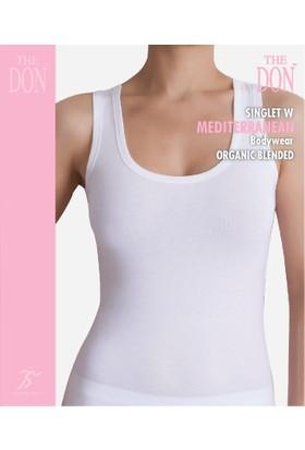TheDON Bayan Singlet W Beyaz Renk