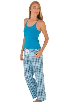TheDON Camisole Petrol Mavisi Renk Bayan Askılı Atlet