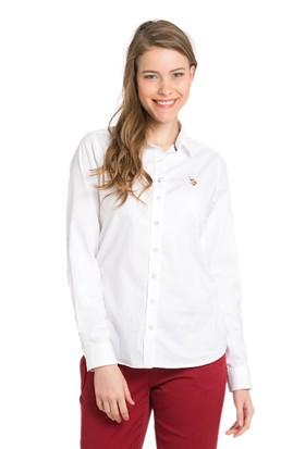 U.S. Polo Assn. Criscolor16K Kadın Dokuma Gömlek