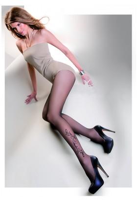 Gabriella Siyah Külotlu Çorap cecylia nero