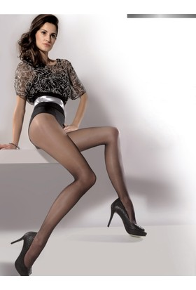 Gabriella 2'li paket 15 den Siyah Külotlu Çorap exclusive15 nero