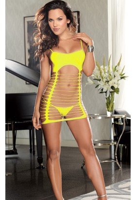 Miss Lancy Sarı File Babydoll mly405