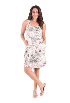 Tepa Pudra Batik Elbise