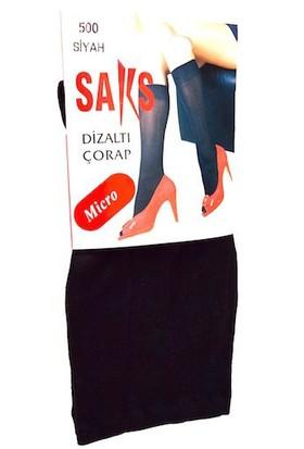 Dizaltı Çorap Micro 500-Siyah