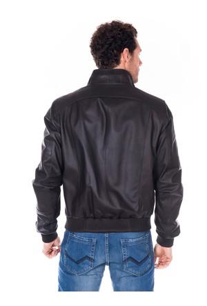 İparelde E5132 Erkek Kahverengi Deri Ceket