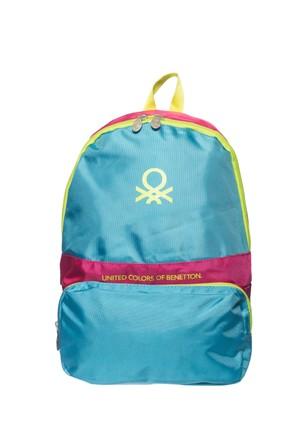 Benetton Çocuk Sırt Çantası Bn87251 Mavi 32*44*15