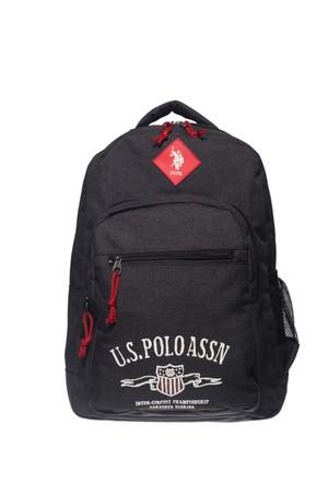U.S. Polo Assn. Çocuk Sırt Çantası Pl6322 Siyah 30*43*15