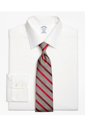 Brooks Brothers Kravat Yaka Royal Oxford Slim Fit Gömlek