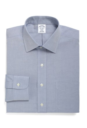 Brooks Brothers Kravat Yaka Beyaz Gömlek