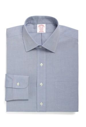 Brooks Brothers Kravat Yaka Regular Beyaz Gömlek