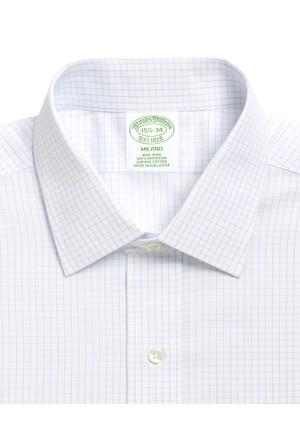 Brooks Brothers Ekstra Slim Mavi Gömlek