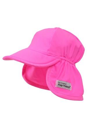 Flap Happy Pembe Cennet Flap Yüzme Şapkası