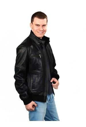 Deriza Fenix Siyah Deri Ceket