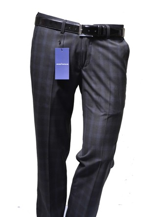 Arvedo Erkek Pantolon Ekose Slim Fit 05112-1