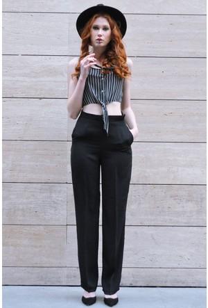 Sofistiqe Siyah Pantolon