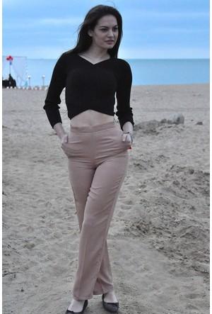 Sofistiqe Kahverengi Pantolon