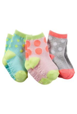 Carter's Kız Çocuk 3'Lü Çorap 60245