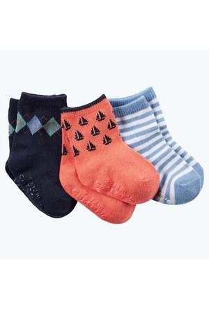 Carter's Erkek Çocuk 3'Lü Çorap 60424