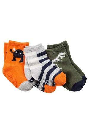 Carter's Erkek Çocuk 3'Lü Çorap 60429