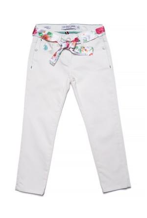 U.S. Polo Assn. Fancy6Y Kız Çocuk Dokuma Spor Pantolon